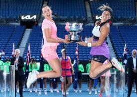 Finală la dublu feminin de la Australian Open a durat doar o oră și 19 minute
