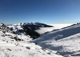 Risc maxim de avalanșă în munţii Făgăraş - pericol mare și în masivele Bucegi şi Parâng
