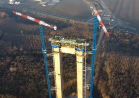 Drulă: La Podul de la Brăila lucrările merg din plin, dar la drumurile expres de legătură nu au început încă. Nu am găsit autorizaţia de construire emisă (Video)