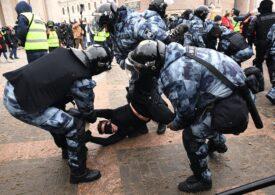 Rusia înăsprește sancţiunile pentru protestatari, pe fondul amplelor manifestații pentru eliberarea lui Navalnîi