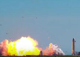 Probleme pentru SpaceX: Încă un prototip al rachetei Starship a explodat la aterizare (Video)