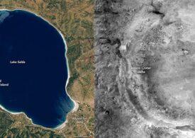 Un lac din Turcia are caracteristici similiare craterului Jezero de pe Marte