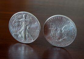 Cum au împins oamenii de rând valoarea argintului la cote istorice. Fenomenul GameStop se repetă