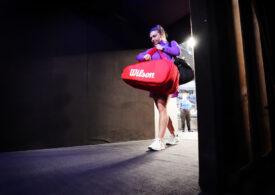 Simona Halep s-a retras de la Doha