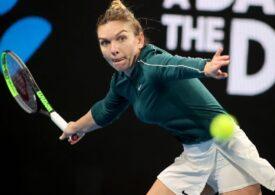 Simona Halep câștigă primul meci oficial din noul sezon