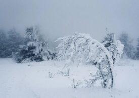 Va fi din ce în ce mai frig. Codurile de vreme rea au fost actualizate. Minus 11 grade în București