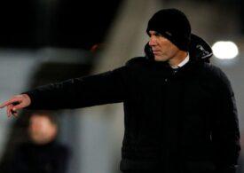 Zidane a răbufnit în timpul unei conferințe de presă