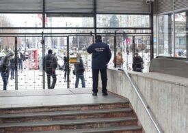 Jandarmeria Capitalei a dat 23 de sancțiuni în valoare de 125.000 de lei după greva de la metrou