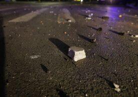 Protestatarii violenţi din Capitală au provocat pagube de zeci de mii de euro doar la STB (Foto)