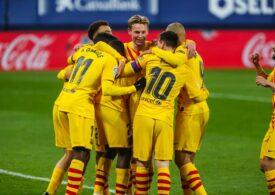 Barcelona rămâne în lupta pentru titlu în Spania (Video)