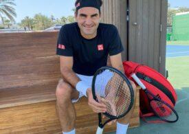 Roger Federer a revenit cu o victorie