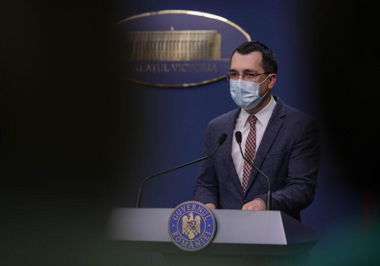 Voiculescu a explicat cum se calculează incidența cazurilor la 14 zile