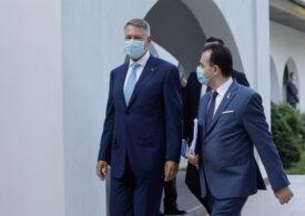 Iohannis l-a chemat pe Orban la Cotroceni și au vorbit despre bani și coaliție - surse