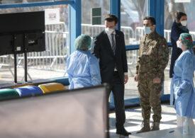 Peste 30% din fluxurile de vaccinare din București sunt militarizate