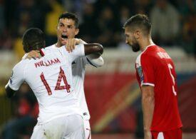 Cristiano Ronaldo a făcut o criză de nervi și a părăsit terenul înainte de finalul jocului dintre Serbia și Portugalia (Video)