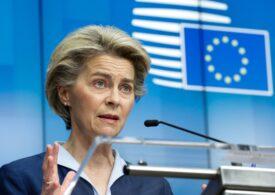 UE ar putea bloca şi alte exporturi de vaccin, anunţă Ursula von der Leyen