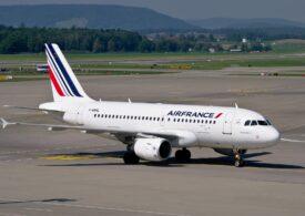Un avion Air France a aterizat de urgenţă la Sofia din cauza unui pasager recalcitrant. Acesta riscă 10 ani de închisoare