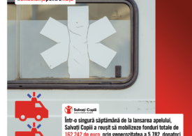 """Românii au donat în doar o săptămână bani pentru ca Spitalul pentru Copii """"Grigore Alexandrescu"""" să aibă două ambulanțe, nu una, cât spera"""