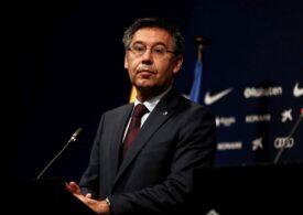 Josep Maria Bartomeu, fost preşedinte al clubului FC Barcelona, a fost arestat - surse