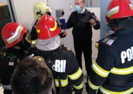 Un bloc din Mioveni și un cazino au fost evacuate din cauza unui miros puternic de diluant