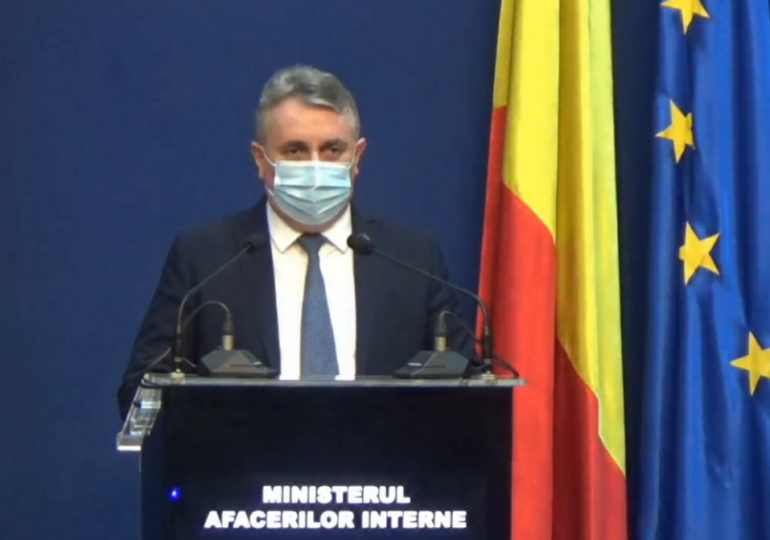 Ministrul de Interne i-a înlocuit pe șefii poliției din Bacău și Onești și i-a dat pe mâna parchetului