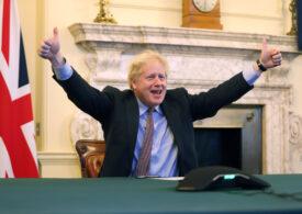 Boris Johnson anunță că e fericit că se va vaccina în curând cu AstraZeneca