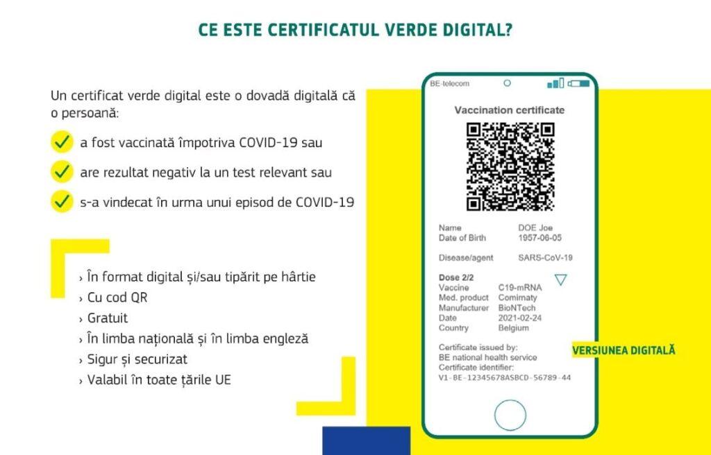certificat verde covid