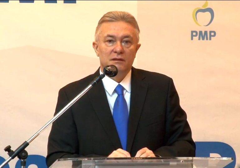 Cristian Diaconescu este noul preşedinte al Partidului Mişcarea Populară