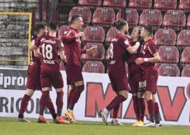 Liga 1: CFR Cluj a zdrobit-o pe FC Argeș