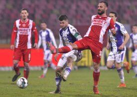 Liga 1: O nouă înfrângere pentru Dinamo