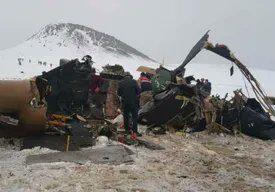 Un elicopter militar s-a prăbușit în Turcia: 10 persoane au murit