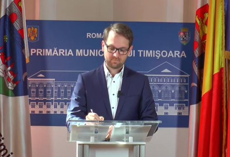Dominic Fritz spune că e posibil ca Timișoara să fie carantinată: Nu mai sunt locuri în spitalele COVID şi la ATI