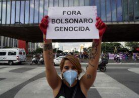 Record de infectare în Brazilia: 90.000 de cazuri în 24 de ore. Secțiile ATI sunt ocupate 80%