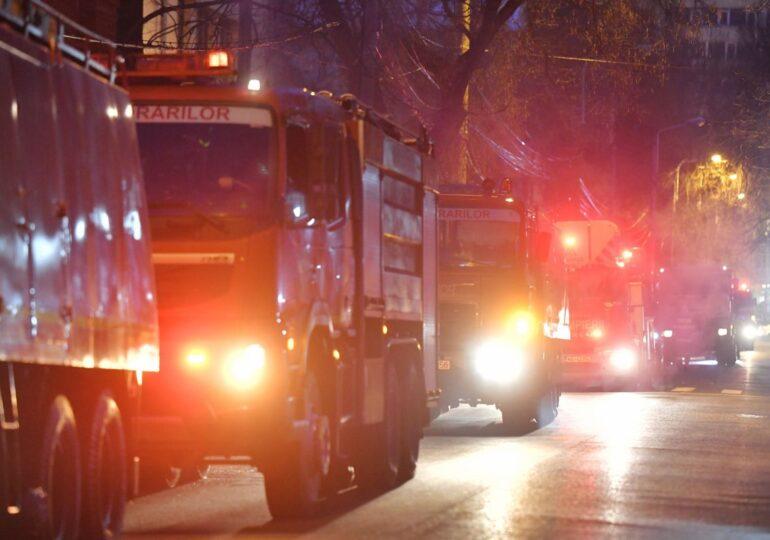Incendiu la baza lui FCSB: O persoană a murit și două sunt rănite