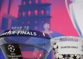 Meciuri incendiare în sferturile de finală ale Ligii Campionilor
