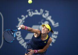 Garbine Muguruza a câștigat turneul de la Dubai