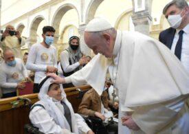 """Plecarea creştinilor din Orientul Mijlociu, """"o pierdere incalculabilă"""", a declarat Papa Francisc la Mosul"""