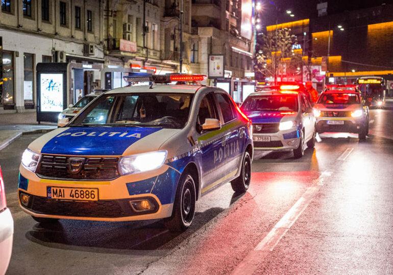 Bătaie și împuşcături în trafic, în Ploieşti. Un bărbat a ajuns după gratii, două persoane sunt la spital