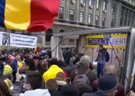 Proteste în București și în alte orașe din țară faţă de restricțiile anticoronavirus: Jandarmeria anunță sancțiuni (Video)