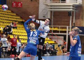 CSM București a trecut cu emoții de SCM Râmnicu Vâlcea, în Liga Campionilor la handbal feminin