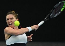 Simona Halep reușește o revenire spectaculoasă în meciul cu Caroline Garcia