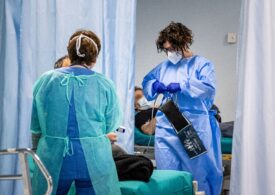 Zeci de bolnavi de COVID-19 stau la coadă pentru un loc în Spitalul Judeţean Vâlcea