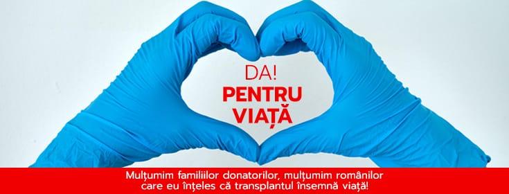 Prelevare de organe la Iași. Cinci vieți salvate prin transplant de organe și cornee