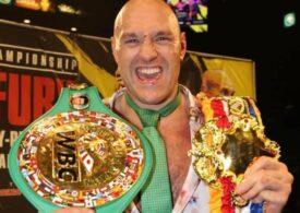 Tyson Fury şi Anthony Joshua luptă în cel mai așteptat meci de box al anului