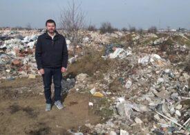 Gropi ilegale de gunoi descoperite în sud de șeful Gărzii de Mediu: E ca într-o țară subecuatorială!