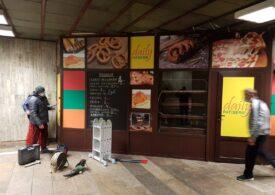 A început demolarea magazinelor de la metrou și în Sectorul 1
