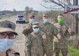 Echipele mobile ale MApN au pornit prin țară și au vaccinat deja în localități izolate din Maramureș și Satu Mare