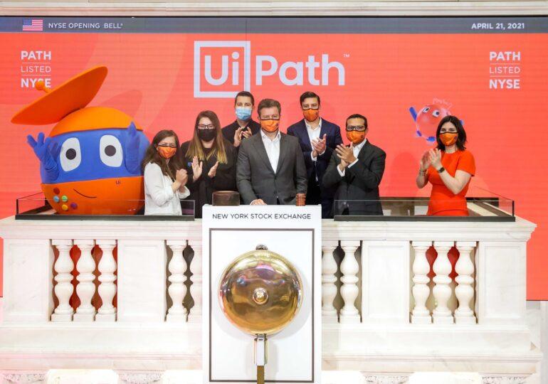 Acțiunile UiPath continuă să crească pe Wall Street. Compania valorează deja aproape 40 de miliarde de dolari