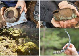 O comoară din Epoca Bronzului a fost descoperită în Suedia. Arheologi: Rar găsești așa ceva într-o pădure