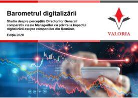 Eficiența operațională crescută, simplificarea proceselor și reducerea costurilor sunt în topul beneficiilor digitalizării din perspectiva managerilor